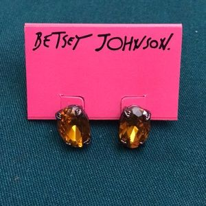 Betsey Johnson stud earrings